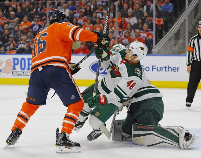 Minnesota Wild vs. Edmonton Oilers - 4/2/18 NHL Pick, Odds, and Prediction