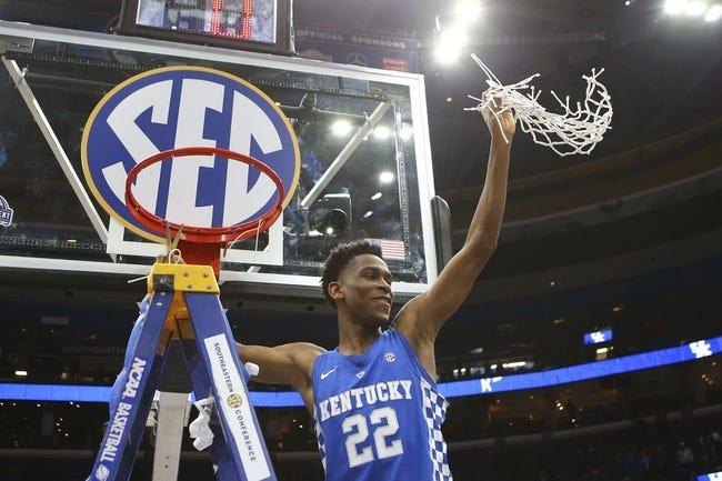 Kentucky vs. Davidson - 3/15/18 College Basketball Pick, Odds, and Prediction