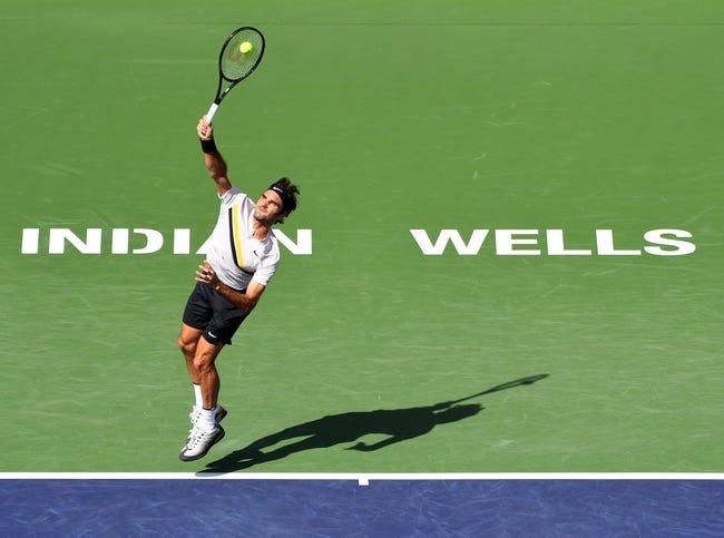 Roger Federer vs. Jeremy Chardy 2018 Indian Wells Masters Tennis Pick, Odds, Prediction