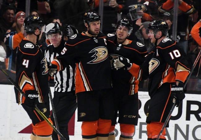 NHL | Minnesota Wild (44-25-10) at Anaheim Ducks (41-25-13)
