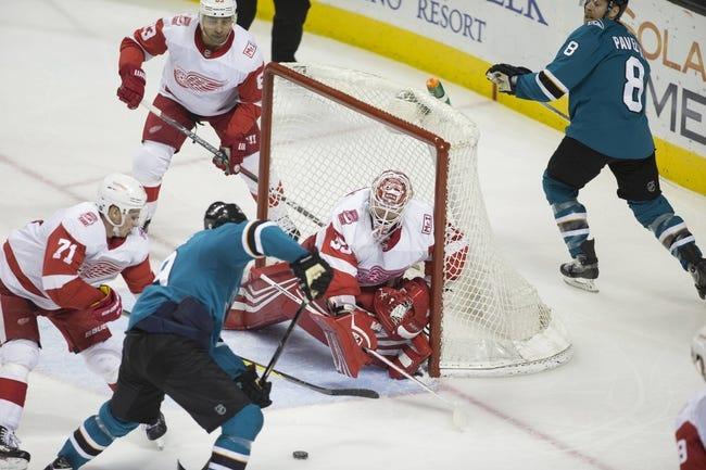 NHL | San Jose Sharks at Detroit Red Wings