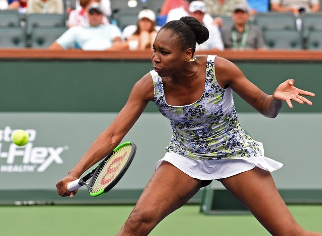 Venus Williams vs. Carla Suarez Navarro 2018 Indian Wells Masters Tennis Pick, Odds, Prediction