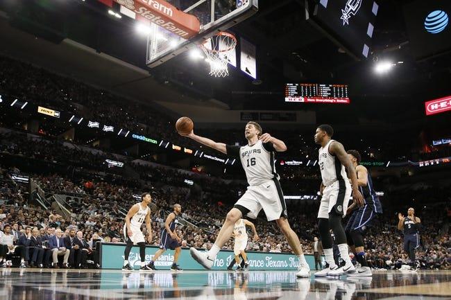 San Antonio Spurs vs. Orlando Magic - 11/4/18 NBA Pick, Odds, and Prediction