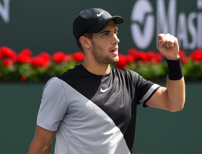 Borna Coric vs. Kevin Anderson 2018 Indian Wells Masters Tennis Pick, Odds, Prediction