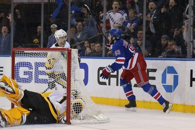 NHL   Pittsburgh Penguins (21-12-6) at New York Rangers (17-14-7)