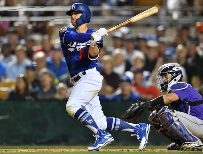 MLB | Colorado Rockies (25-22) at Los Angeles Dodgers (20-26)