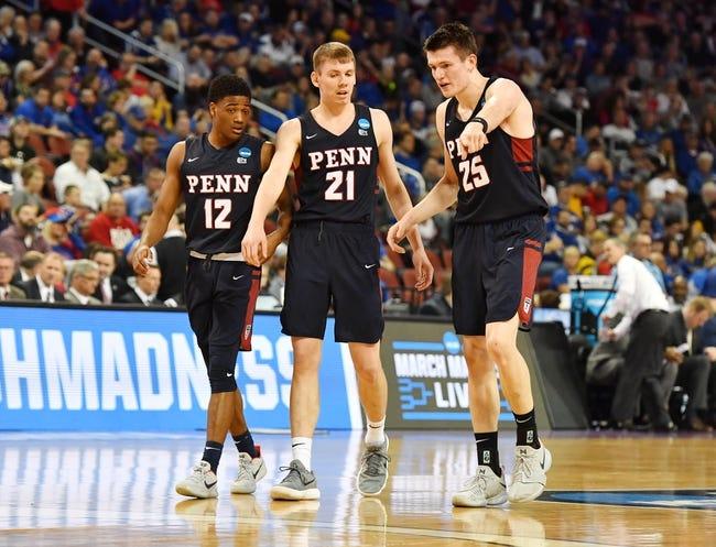 George Mason vs. Pennsylvania - 11/6/18 College Basketball Pick, Odds, and Prediction