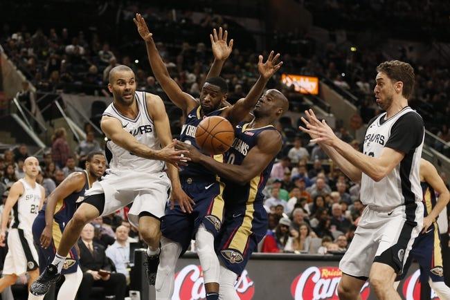 New Orleans Pelicans vs. San Antonio Spurs - 4/11/18 NBA Pick, Odds, and Prediction