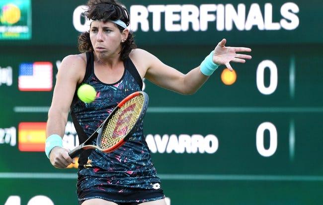 Carla Suarez Navarro vs. Belinda Bencic 2018 Wimbledon Tennis Pick, Preview, Odds, Prediction