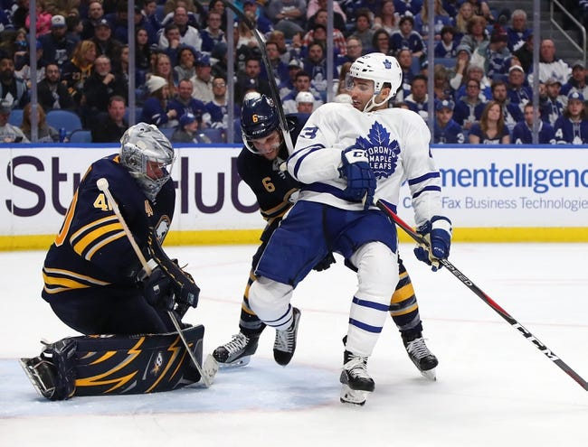 Toronto Maple Leafs vs. Buffalo Sabres - 3/26/18 NHL Pick, Odds, and Prediction