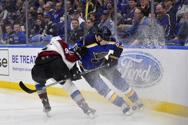 Colorado Avalanche vs. St. Louis Blues - 4/7/18 NHL Pick, Odds, and Prediction