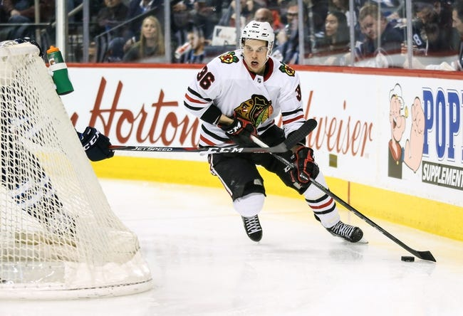 Chicago Blackhawks vs. Winnipeg Jets - 3/29/18 NHL Pick, Odds, and Prediction