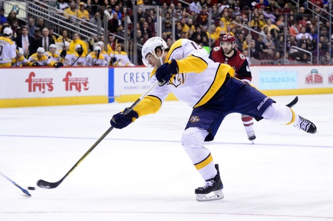 NHL | Arizona Coyotes at Nashville Predators
