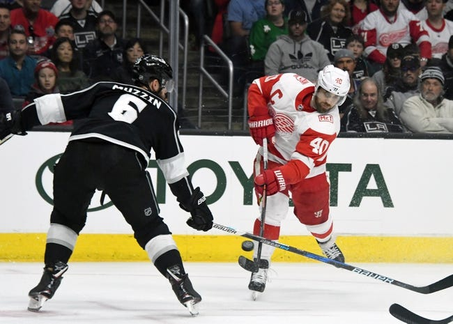 Los Angeles Kings vs. Detroit Red Wings - 10/7/18 NHL Pick, Odds, and Prediction