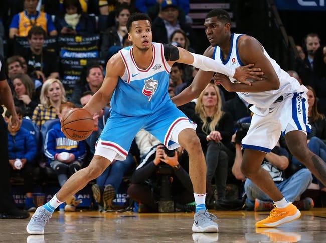 Sacramento Kings vs. Golden State Warriors - 3/31/18 NBA Pick, Odds, and Prediction
