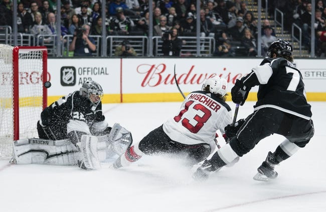 NHL | New Jersey Devils (9-12-5) at Los Angeles Kings (10-17-1)