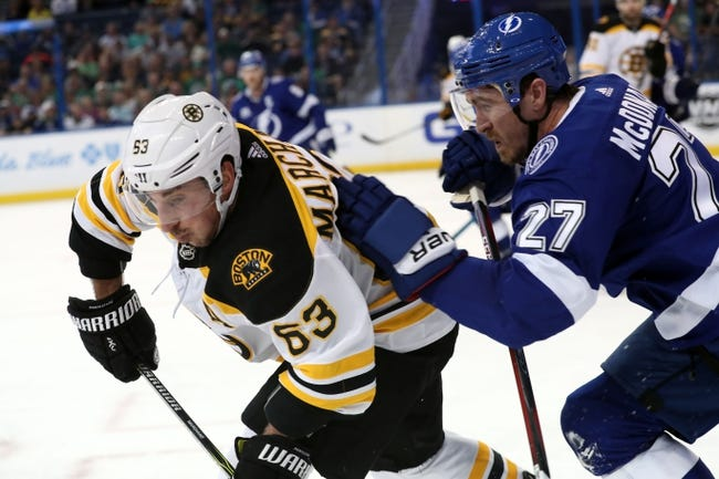 Boston Bruins vs. Tampa Bay Lightning - 3/29/18 NHL Pick, Odds, and Prediction