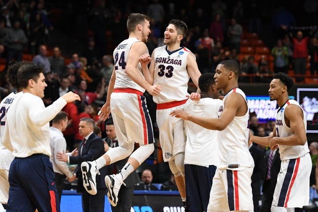 Gonzaga vs. Idaho State - 11/6/18 College Basketball Pick, Odds, and Prediction