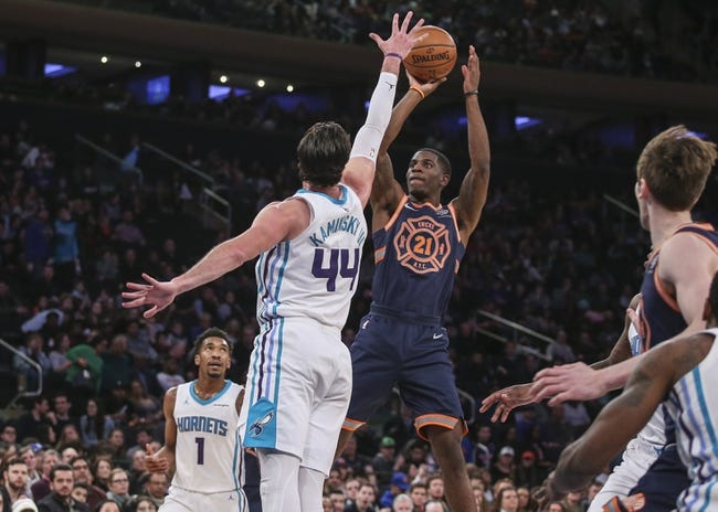 Charlotte Hornets vs. New York Knicks - 3/26/18 NBA Pick, Odds, and Prediction