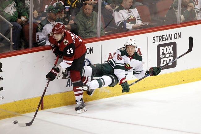 NHL | Arizona Coyotes (1-3-0) at Minnesota Wild (1-2-2)