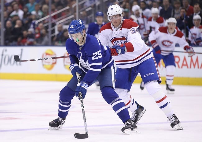 Toronto Maple Leafs vs. Montreal Canadiens - 4/7/18 NHL Pick, Odds, and Prediction