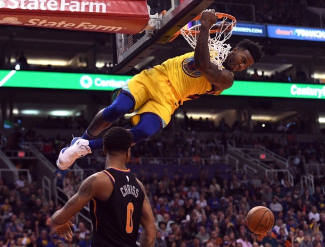 Golden State Warriors vs. Phoenix Suns - 4/1/18 NBA Pick, Odds, and Prediction