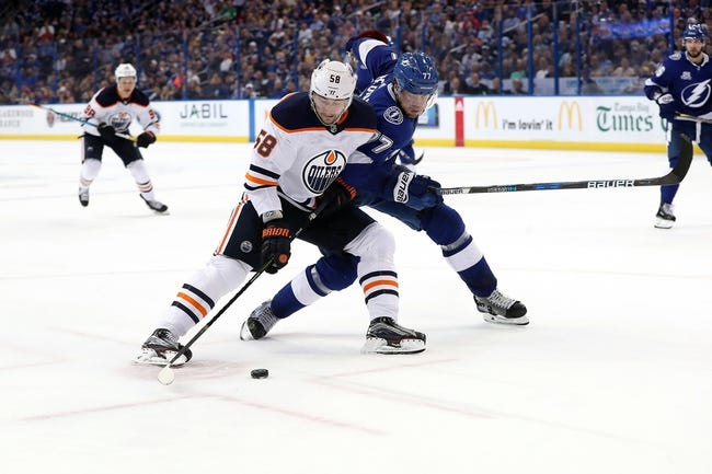 Tampa Bay Lightning vs. Edmonton Oilers - 11/6/18 NHL Pick, Odds, and Prediction