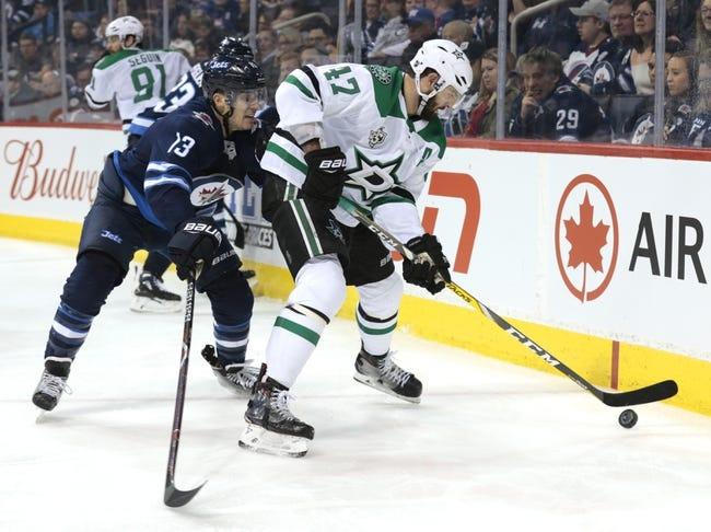 NHL   Winnipeg Jets (1-0-0) at Dallas Stars (1-0-0)