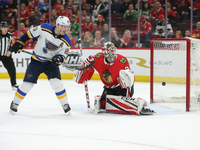 St. Louis Blues vs. Chicago Blackhawks - 4/4/18 NHL Pick, Odds, and Prediction