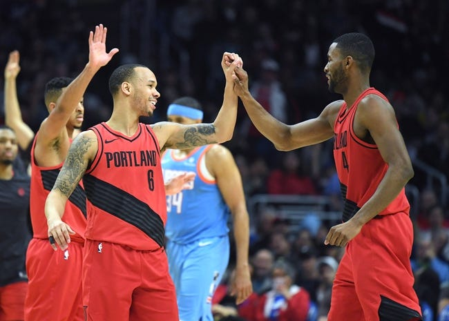 NBA | Los Angeles Clippers (41-34) at Portland Trail Blazers (46-29)