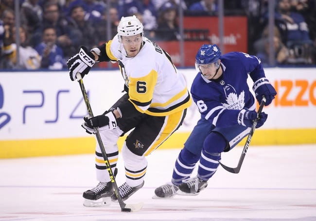NHL | Pittsburgh Penguins (2-1-2) at Toronto Maple Leafs (6-1-0)