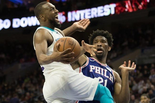 Charlotte Hornets vs. Philadelphia 76ers - 4/1/18 NBA Pick, Odds, and Prediction