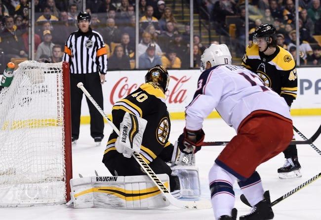 NHL   Boston Bruins at Columbus Blue Jackets