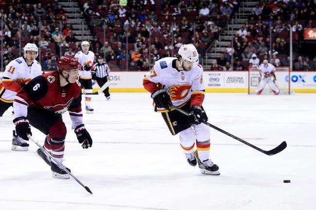 Calgary Flames vs. Arizona Coyotes - 4/3/18 NHL Pick, Odds, and Prediction
