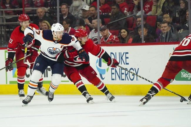 NHL | Carolina Hurricanes at Edmonton Oilers