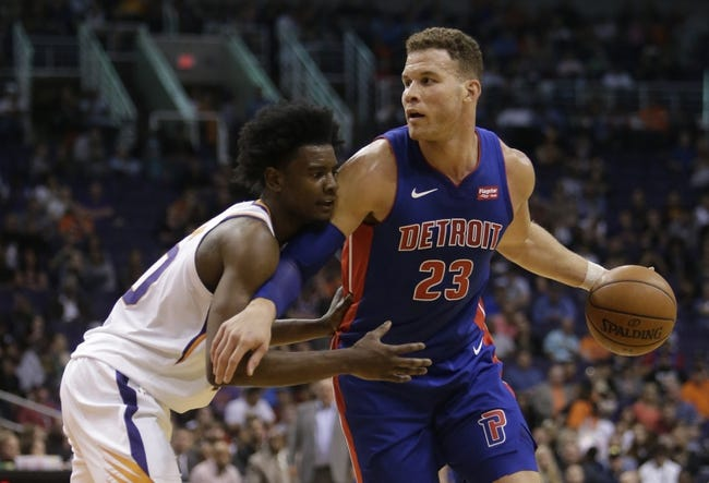 NBA | Phoenix Suns (4-14) at Detroit Pistons (9-7)