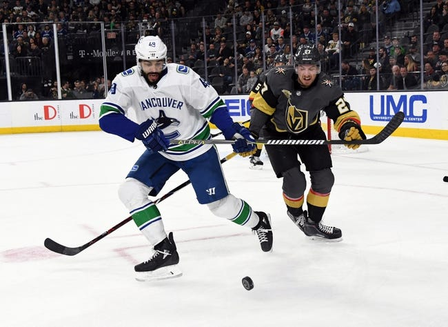 Vancouver Canucks vs. Vegas Golden Knights - 4/3/18 NHL Pick, Odds, and Prediction