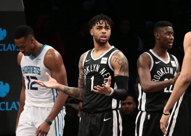 NBA | Charlotte Hornets (16-16) at Brooklyn Nets (16-19)