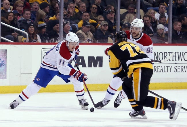 Pittsburgh Penguins vs. Montreal Canadiens - 3/31/18 NHL Pick, Odds, and Prediction