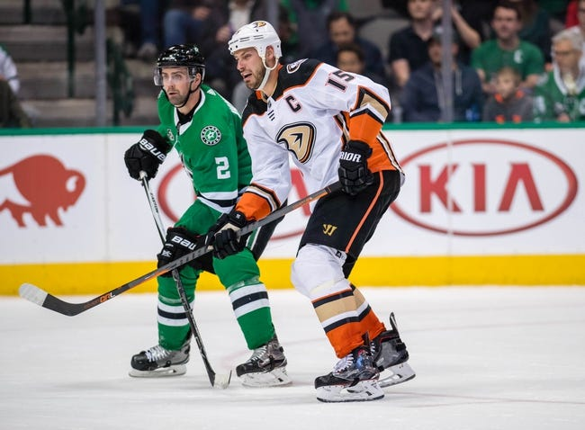 Anaheim Ducks vs. Dallas Stars - 4/6/18 NHL Pick, Odds, and Prediction
