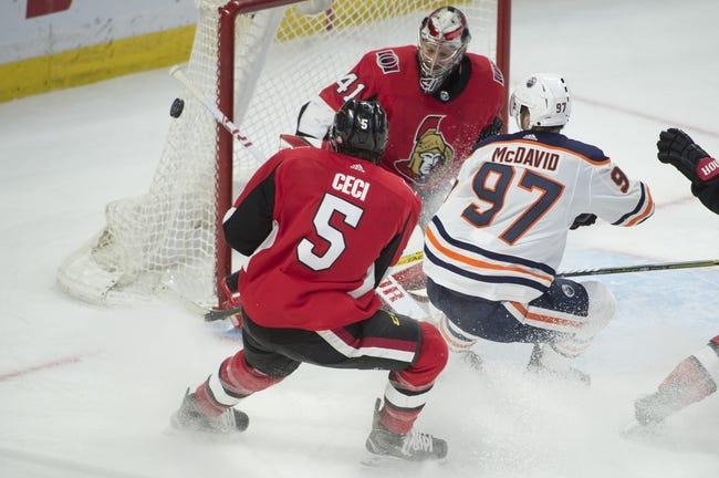 NHL | Edmonton Oilers at Ottawa Senators