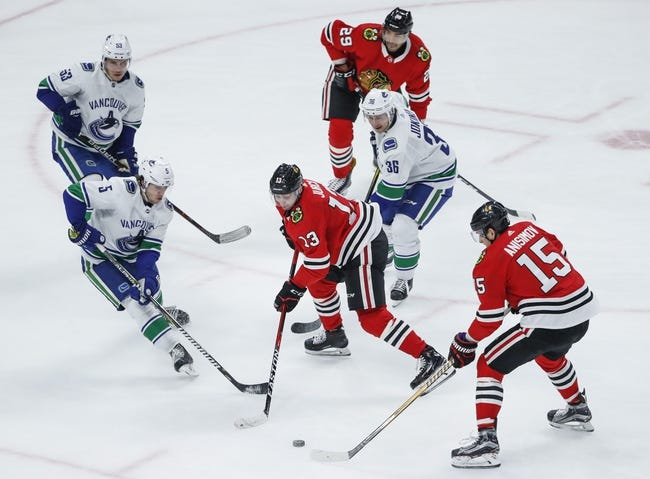 Vancouver Canucks vs. Chicago Blackhawks - 10/31/18 NHL Pick, Odds, and Prediction