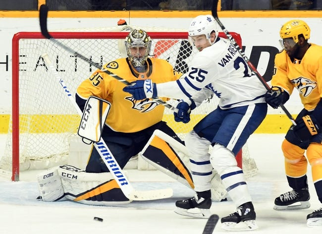 NHL | Nashville Predators at Toronto Maple Leafs