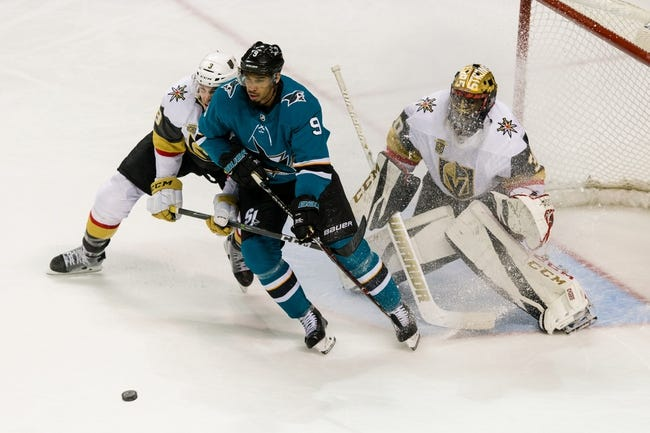 Vegas Golden Knights vs. San Jose Sharks - 3/31/18 NHL Pick, Odds, and Prediction