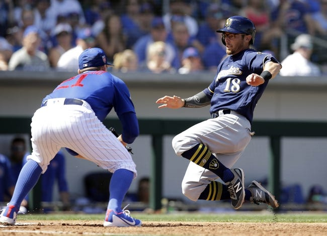 Milwaukee Brewers vs. Chicago Cubs - 4/5/18 MLB Pick, Odds, and Prediction