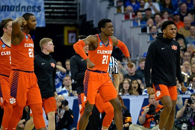 Clemson vs. The Citadel - 11/6/18 College Basketball Pick, Odds, and Prediction