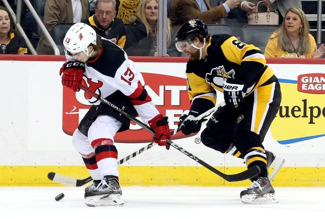 New Jersey Devils vs. Pittsburgh Penguins - 3/29/18 NHL Pick, Odds, and Prediction