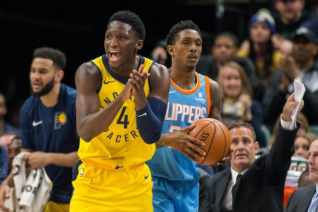 Los Angeles Clippers vs. Indiana Pacers - 4/1/18 NBA Pick, Odds, and Prediction