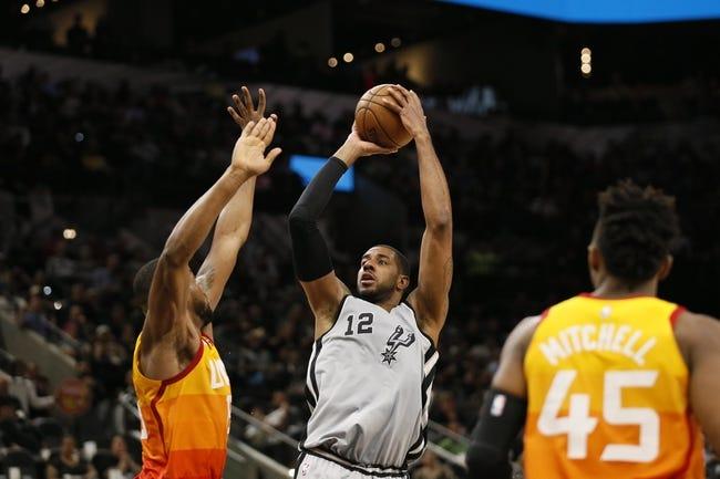 Utah Jazz vs. San Antonio Spurs - 12/4/18 NBA Pick, Odds, and Prediction