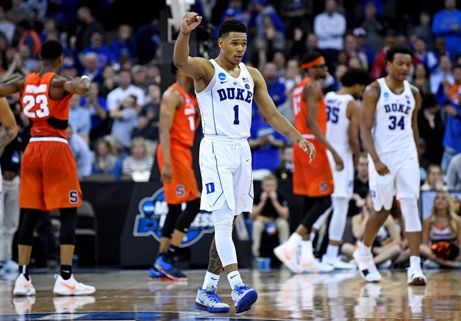 Duke Vs Syracuse 1 14 19 College Basketball Pick Odds And
